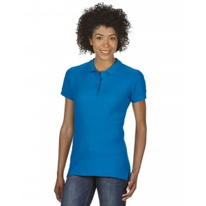 GILDAN 85800L PREMIUM™ COTTON LADIES' DOUBLE PIQUÉ POLO