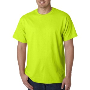 GILDAN 5000 HEAVY COTTON ADULT T-SHIRT SAFETY