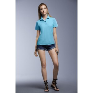 ANVIL 6280L WOMEN'S DOUBLE PIQUÉ POLO