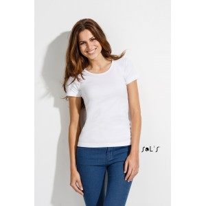 SOL'S LADY O WOMEN'S ROUND COLLAR T-SHIRT