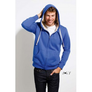 SOL S SHERPA UNISEX ZIPPED JACKET WITH